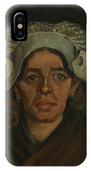 Van Gogh Museum iPhone Case - Head Of A Woman - 2 by Vincent Van Gogh