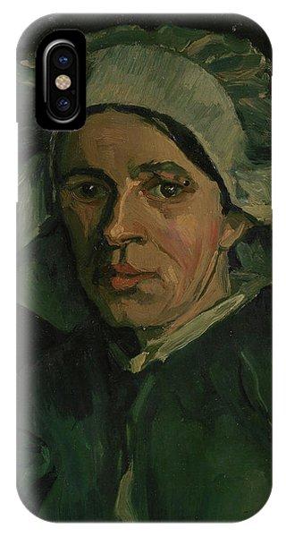 Van Gogh Museum iPhone Case - Head Of A Woman - 3 by Vincent Van Gogh