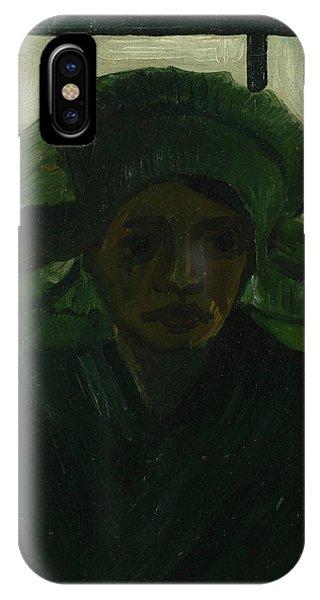 Van Gogh Museum iPhone Case - Head Of A Girl by Vincent Van Gogh