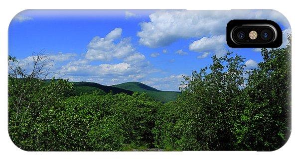 IPhone Case featuring the photograph Heading Bear Mountain Connecticut On The Appalachian Trail by Raymond Salani III