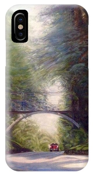 IPhone Case featuring the painting Heading East by J Reynolds Dail