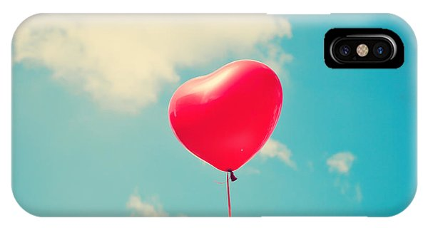 Heart Balloon Phone Case by Andrekart Photography