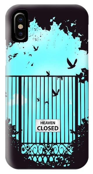 Sky iPhone Case - Heaven's Door by Balazs Solti