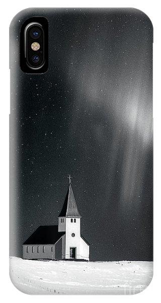 Desolation iPhone Case - Heaven's Light by Evelina Kremsdorf