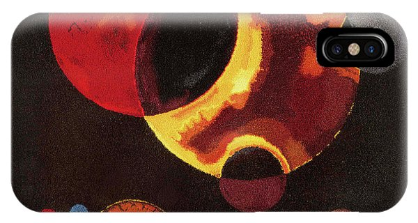 Illusion iPhone Case - Heavy Circles by Wassily Kandinsky