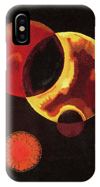 Russian Impressionism iPhone Case - Heavy Circles by Wassily Kandinsky