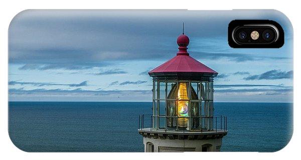 Heceta Head Light IPhone Case