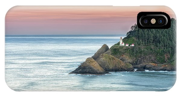 Heceta Lighthouse IPhone Case