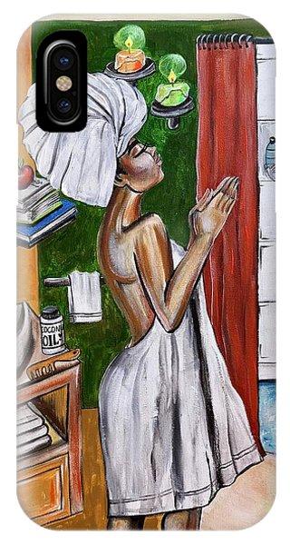 iPhone Case - Her Prayer by Artist RiA
