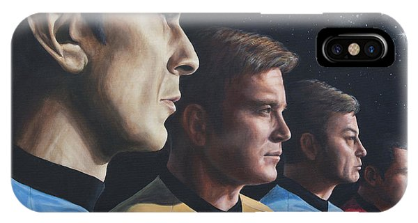 Heroes Of The Final Frontier IPhone Case