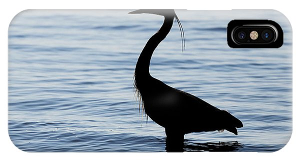 Heron In Silhouette IPhone Case