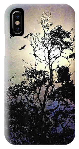 Herons At Dusk IPhone Case
