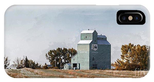 IPhone Case featuring the photograph Herronton Elevator by Brad Allen Fine Art