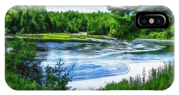 IPhone Case featuring the photograph Hiawatha's River by Mike Braun