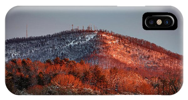 Hibriten Mountain - Lenoir, North Carolina IPhone Case