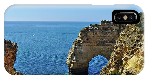 Hidden Arch In Marinha Beach IPhone Case