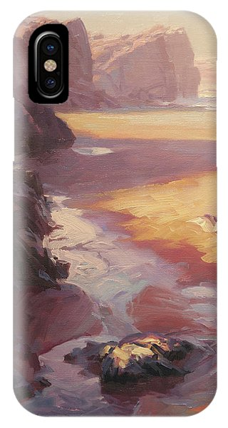 Lavender iPhone Case - Hidden Path To The Sea by Steve Henderson