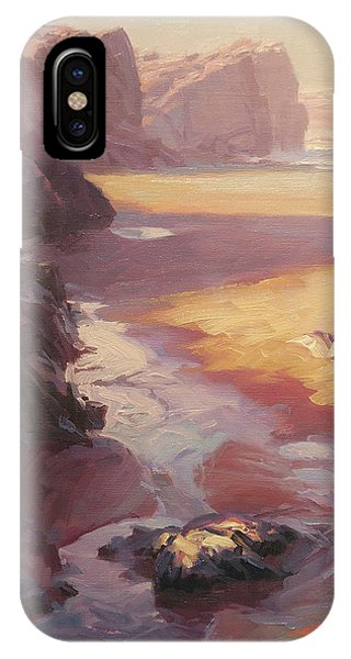 Pacific Ocean iPhone Case - Hidden Path To The Sea by Steve Henderson
