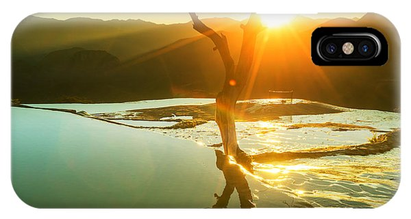 Rock Formation iPhone Case - Hierve El Agua, Natural Rock Formations by Galyna Andrushko