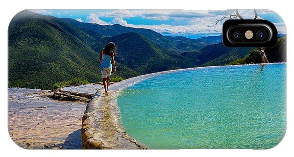 Rock Formation iPhone Case - Hierve El Agua, Oaxaca, Mexico by Hugo Brizard - Yougophoto