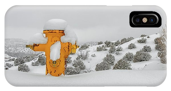 High Desert Hydrant IPhone Case