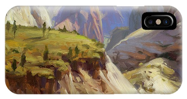 Lavender iPhone Case - High On Zion by Steve Henderson