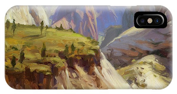 Tan iPhone Case - High On Zion by Steve Henderson