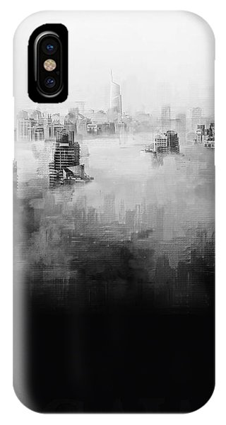 IPhone Case featuring the digital art High Society by ISAW Company