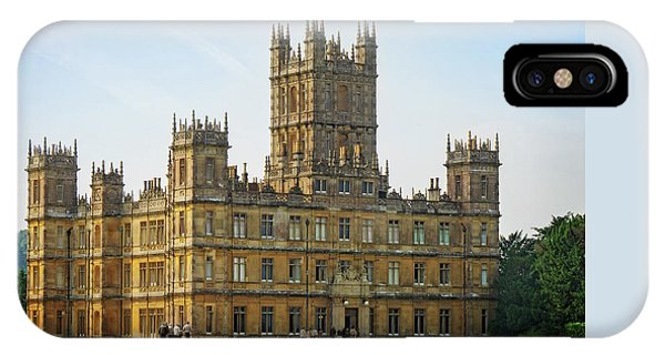 IPhone Case featuring the photograph Highclere Castle by Joe Winkler