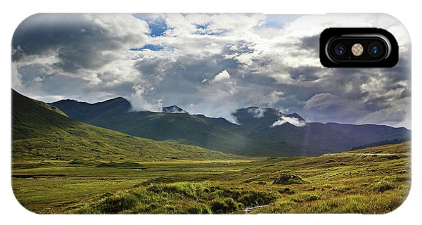 Scotland iPhone Case - Highlands Afternoon by Jerry LoFaro