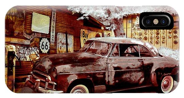 Highsmith Old Car IPhone Case