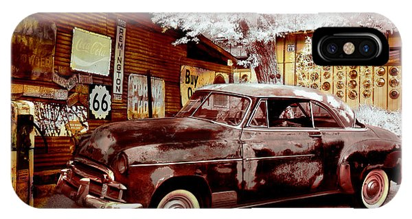 Highsmith Old Car IPhone Case