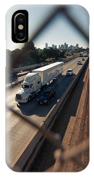 Highway Capture IPhone Case