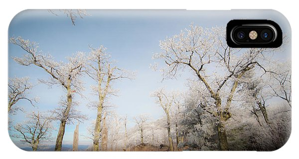 Hilltop Hoarfrost IPhone Case