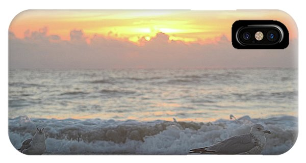 IPhone Case featuring the photograph Hint Of Sunrise by Robert Banach