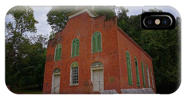 Historic Church Image IPhone Case