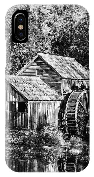 Historic Mabry Mill IPhone Case