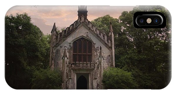 Historic Mississippi Church In The Woods IPhone Case
