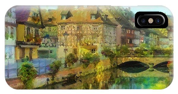 Historic Village On The Rhine IPhone Case