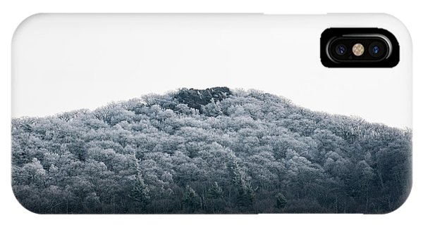 Hoarfrost On The Mountain IPhone Case