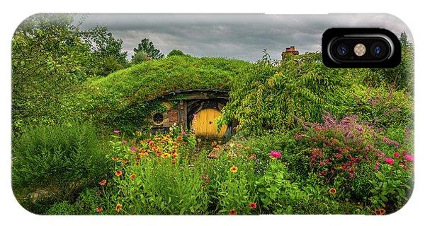 Hobbit Garden In Bloom IPhone Case