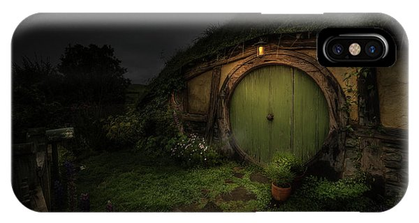 Hobbiton At Night #1 IPhone Case