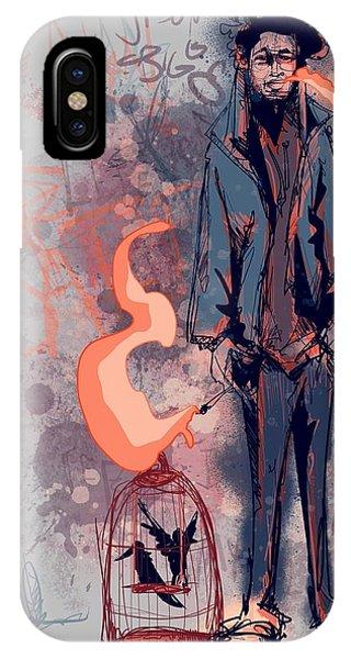 Bacon iPhone Case - Hobo by Ludwig Van Bacon