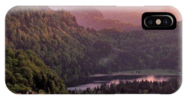 Fairytales iPhone Case - Hohenschwangau Castle, Bavaria, Germany by Francesco Carucci