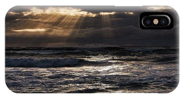 Hokitika Beach New Zealand Iv IPhone Case