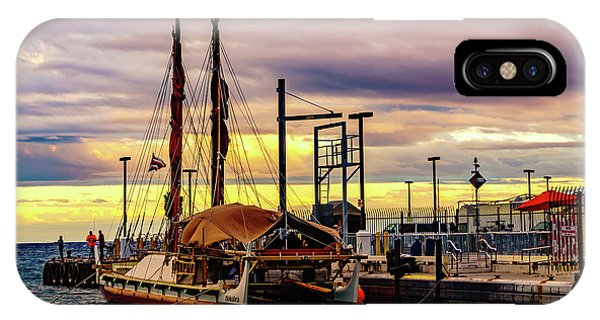 Hokulea Docked IPhone Case