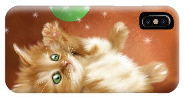 Holiday Kitty IPhone Case