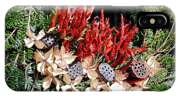 Holiday Peppers IPhone Case