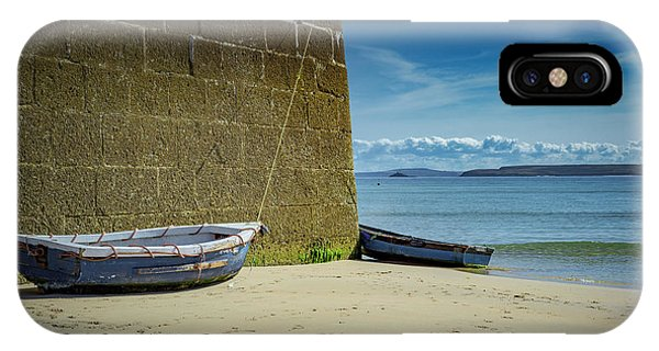 Holidays In St Ives Cornwall IPhone Case
