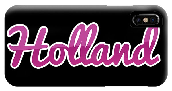 Holland iPhone Case - Holland #holland by TintoDesigns